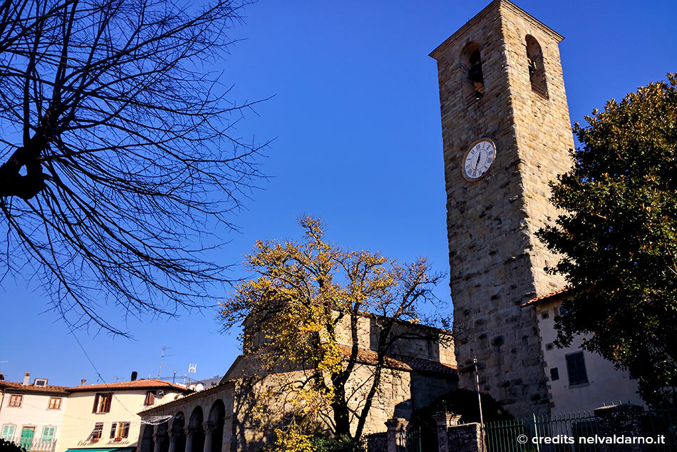 The Romanesque church of San Pietro a Cascia