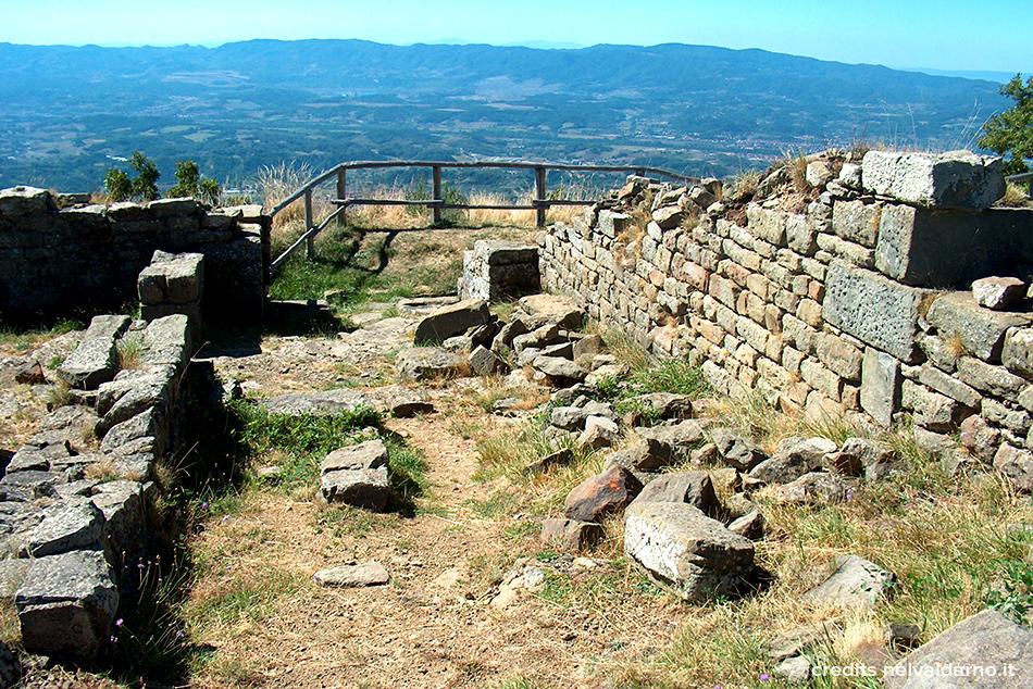 """Il Castello di Poggio alla Regina, detto anche """"Castello di Castiglione"""""""