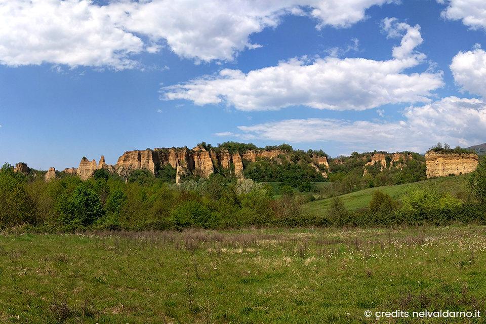 Le Balze nel Valdarno: uno spettacolo della Natura