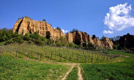 Le Balze del Valdarno nel Sentiero dell'Acqua Zolfina