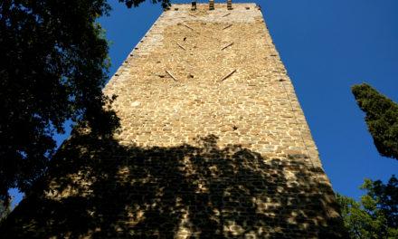 La Torre di Galatrona e lo splendido panorama sul Valdarno