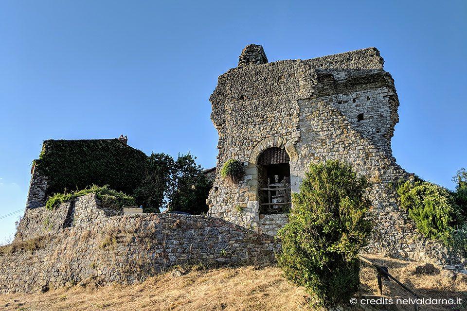 Il Castello di Cennina sulla Valdambra